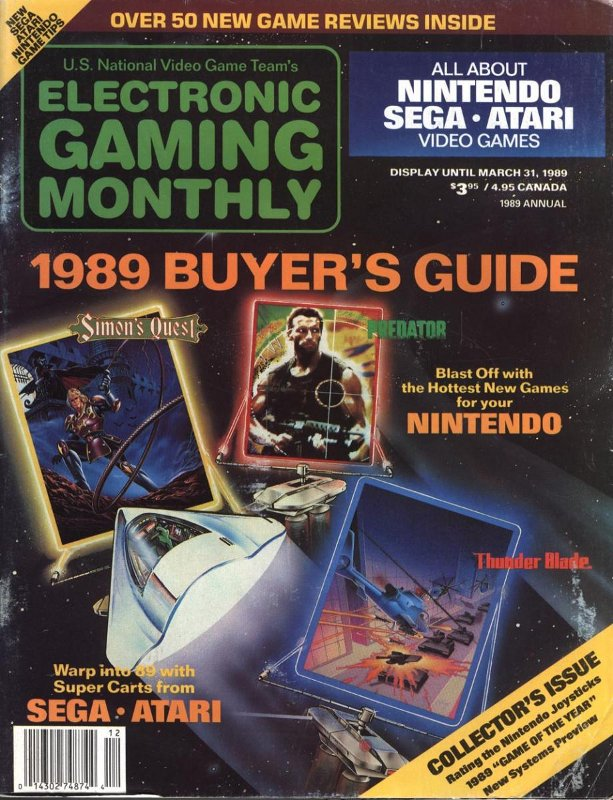 Below is a list of what video game appeared on each cover of Electronic Gaming Monthly. Keep checking back to this section as I will be updating it from time to time with links to the individual magazines.