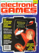 Electronic Games Magazine Cover
