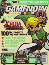 GameNOW Magazine Cover