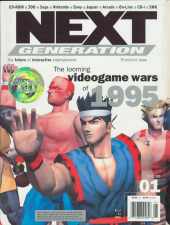 Next Generation Magazine Cover