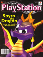 Official U.S. Playstation Magazine Cover