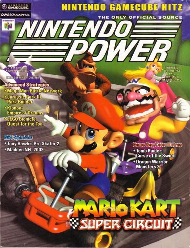 Nintendo Power Issue 148 was released September 2001 and features Mario Kart Super Circuit on the cover.