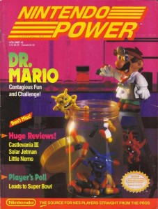 Nintendo Power Issue 18 Cover