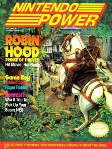 Nintendo Power Issue 26 Cover