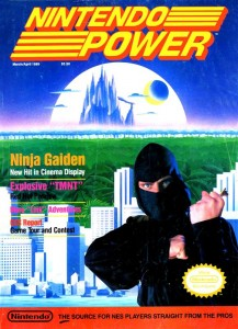 Nintendo Power Issue 5 Cover