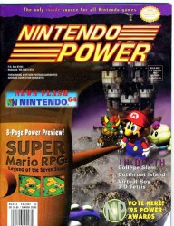 Nintendo Power Issue 82 Cover