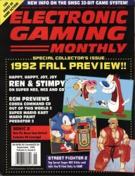 Electronic Gaming Monthly Issue 38 Cover