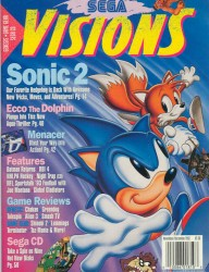 Sega Visions Issue 10 Cover