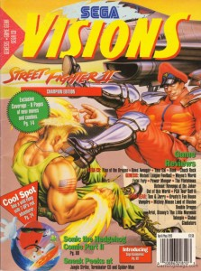 Sega Visions Issue 12 Cover