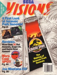 Sega Visions Issue 13 Cover