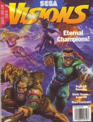 Sega Visions Issue 16 Cover