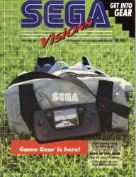 Sega Visions Issue 4 Cover